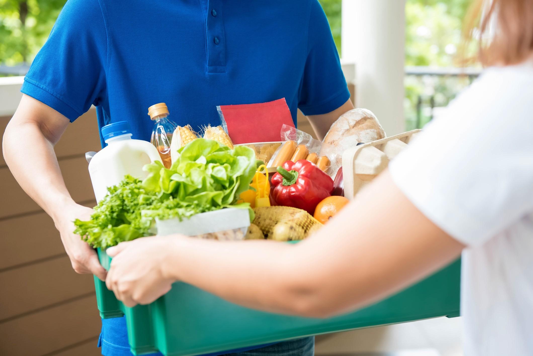 В чем популярность услуги доставки продуктов на дом